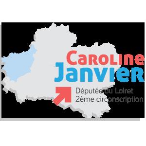 Caroline Janvier, députée de la 2eme circonscription du loiret